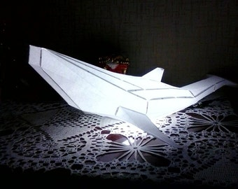 Make your Whale night light