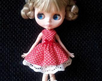 Blythe doll dress. Blythe clothing