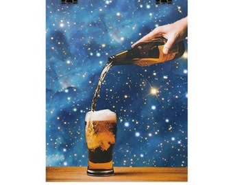 Stars and Beer Enhanced Matte Paper Poster 18x24