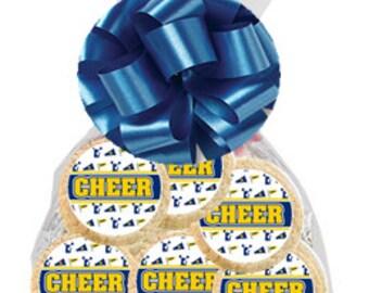12pack  Cheer Leader Decorated Sugar Cookies