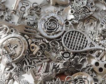 ciondoli argento tibetano