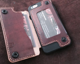 Leather iPhone 6/6S and 5/5S Wallet Cases for Tarja
