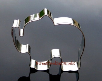 Elephant Cookie Cutter- Stainless Steel - USA FREE Shipping
