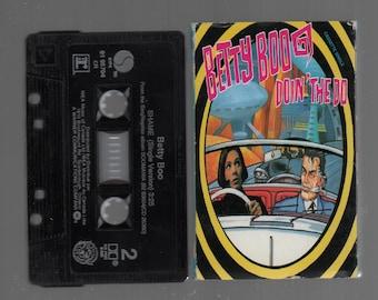 Vintage Cassette Tape : Cassette Single - Betty Boo - Doin' The Do / Shame 91-95704