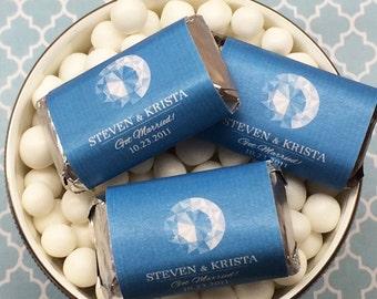 Personalized Diamond Hershey's Miniatures Chocolates - Pack of 100