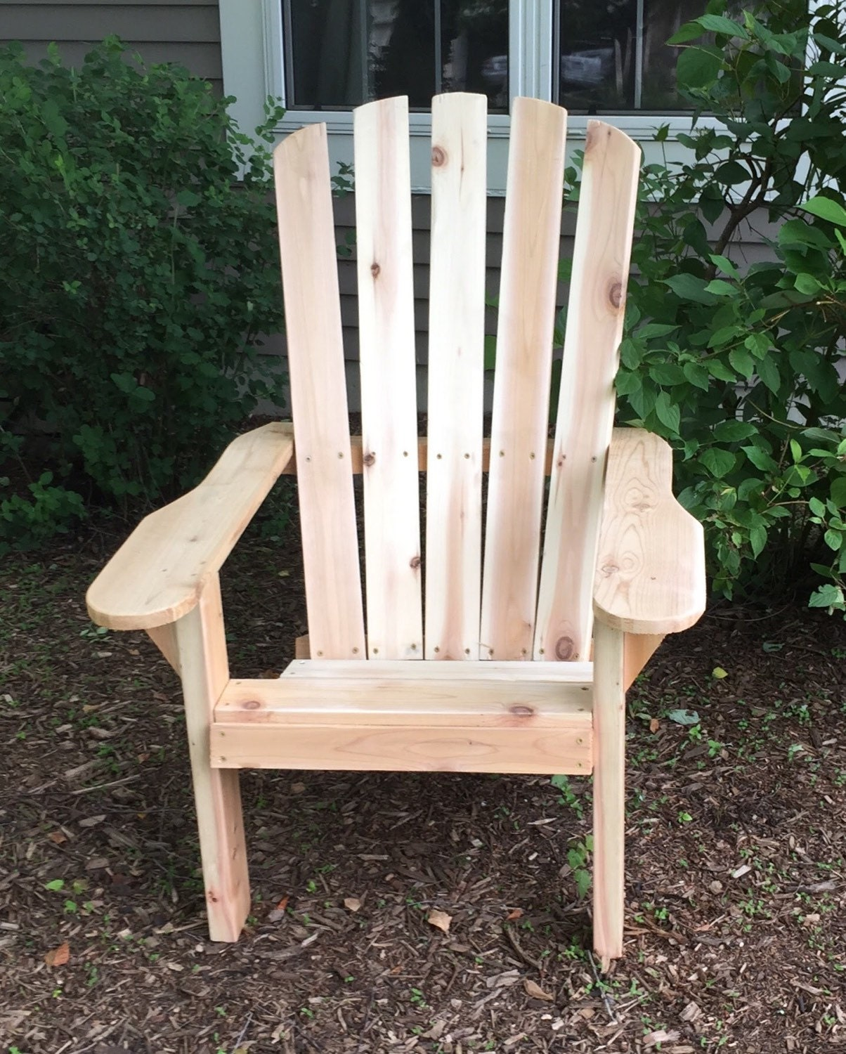 Natural Unfinished Pine: Adirondack Chair: Cedar Or Unfinished Pine By RepurposedByRob