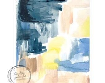 Color Play #3 abstract art print
