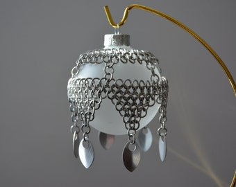 Chainmail Christmas Ornament Cover