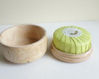 Pretty cypress wood soap box