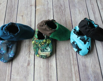 Baby & Toddler Shoes: Gender Neutral. Reversible Soft Sole