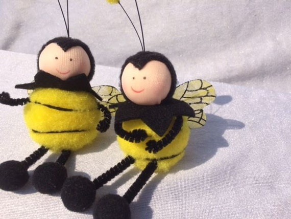 2 Fake Bees 47 Inches Artificial Bee Scrapbooking Craft