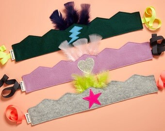 Tribal Feather Party Crowns