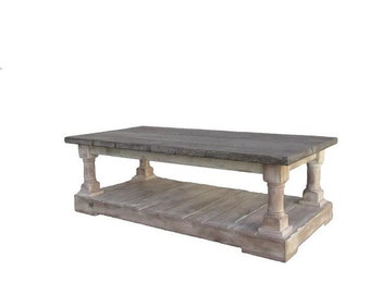 Coffee Table, Reclaimed Wood, Table, Handmade