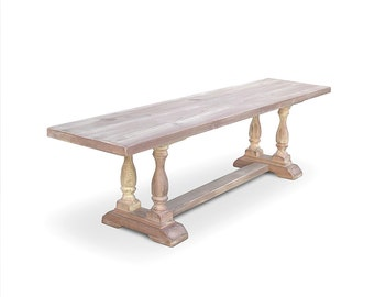 Bench, Wood Bench, Entryway Bench, Farmhouse Bench, Table, Reclaimed Wood, Console Table, Handmade