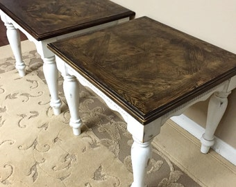 SOLD - End Tables - Nightstands - Side Tables