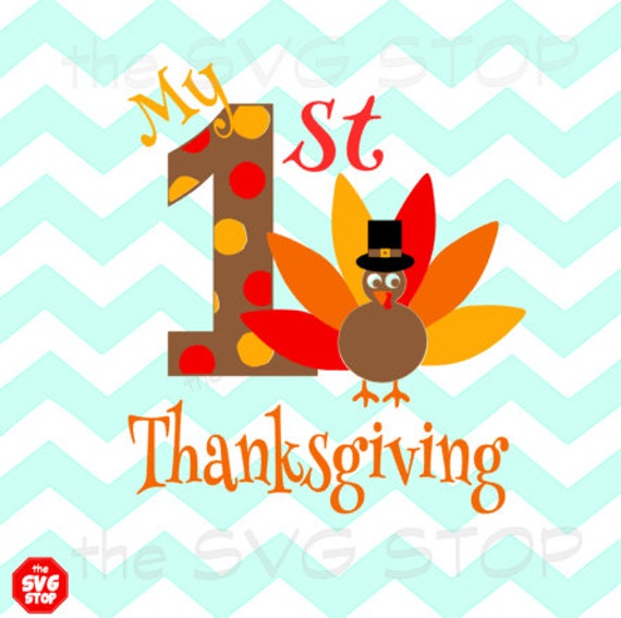 My 1st Thanksgiving Svg And Studio Files For Cricut