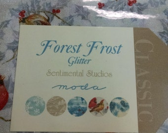 Forest first glitter layer cake- ships free in USA