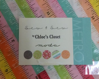 Sew & sew by Chloe's closet layer cake- ships free in USA