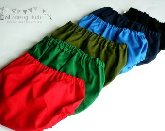 Diaper covers, baby diaper cover solid colors. Diaper cover red, admiral blue, navy blue, green, diaper cover black 0-3M 3-6M 6-12M 12-24m