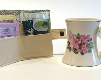 Tea bag carrier/wallet