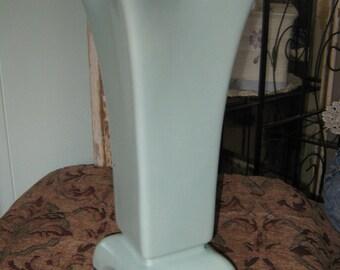 lite green tall Vase