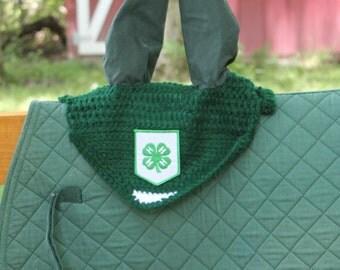 Intermediate Schooling Style Horse Bonnet: Completely Customizable