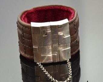 Bracelet Geometric Silver