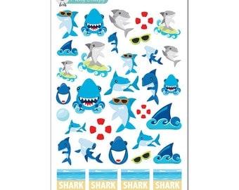 Shark Week Stickers