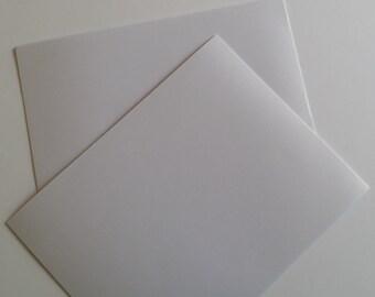 White Shimmer Metallic Cardstock Set of 10