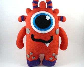 Stuffed Monster Plush Stuffed Animal Cute Toy Baby Plushie Monster Children Buddy Snuggly Cuddly Kids Friend