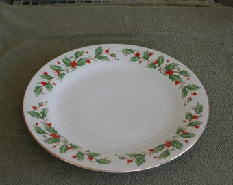 China Pearl  Noel  Dinner Plate