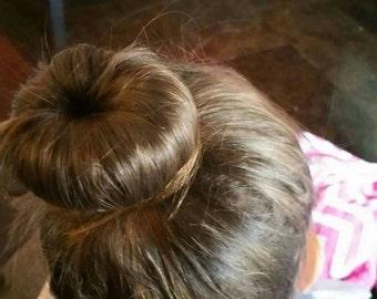 Hair Bun, Hair Bun Maker, Hair Bun Donut, Crochet Hair Bun Donut, Hand crochet, Bun Maker, Hair Donut, Mother's Day, RTS