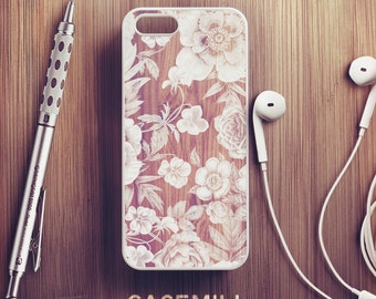 Wood Floral iPhone 6 Case Floral iPhone 6s Case iPhone 6 Plus Case iPhone 6s Plus Case Floral iPhone 5s Case iPhone 7 Case iPhone 5c Case