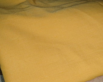 2 3/4 yds daffodil yellow broadcloth