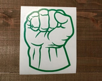Marvel Avengers Hulk Fist Decal