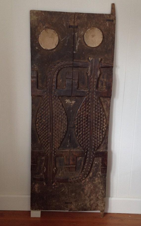 Baule Ivory Coast Door