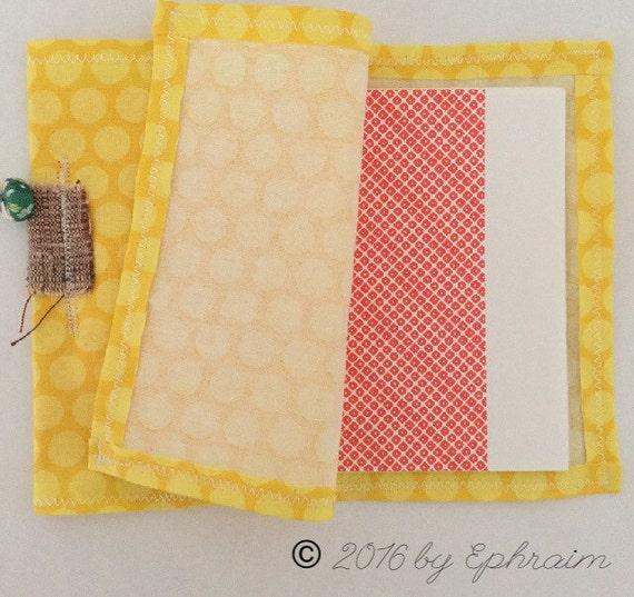 Polka Sun - soft cloth Hand made books by Ephraim © 2016
