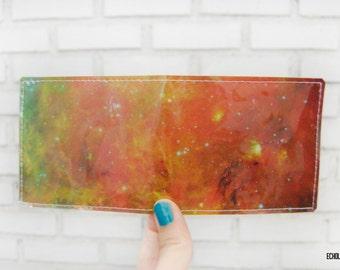 Vinyl Wallet - Hubble Space Telescope - NASA Photograph - Handmade