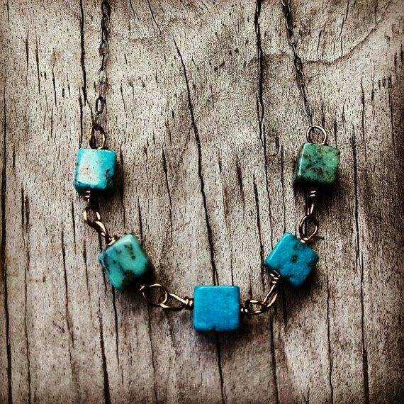 Sterling Silver Turquoise Necklace