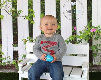 Wooden Park Bench Toddler Photo Prop