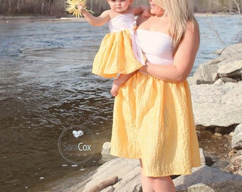 Mommy Miss Lily Dress Photo Prop Crinkle