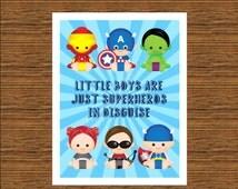 avengers nursery decor baby avengers decor printable
