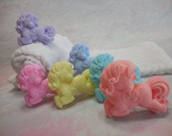 Pony Soap - Horse - Party Favor - Pony Birthday Party - Pony Soap Favor - Fun Kid Bath Soap - Princess Party - Horse Lover - Girl Soap