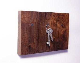 Magnetic Wooden Key Holder