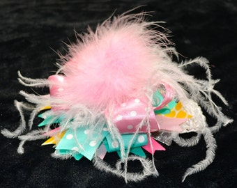 Over The Top Bow for Baby - Headband or Clip In