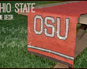 Ohio State Table Runner  (SALE!!)