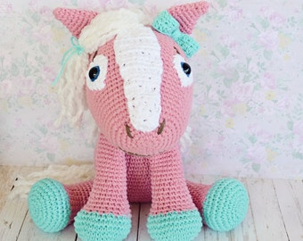 Crochet Horse - Custom Made To Order