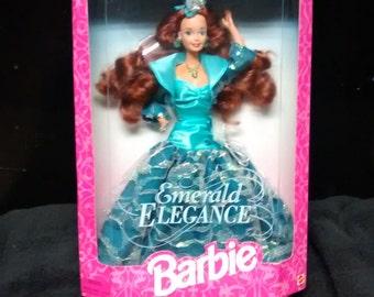 Mattel Emerald Elegance Barbie vintage