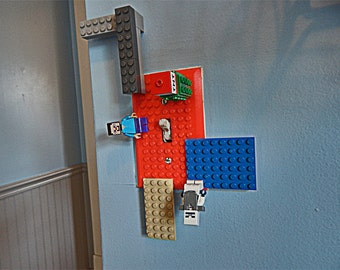 Lego Connecting Light Switch Cover - 3D Printed - Great for Kids of any age - Lego Block Connecting Switch Cover - Christmas Gift