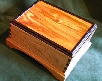 Keepsake Box with Canary Wood Top
